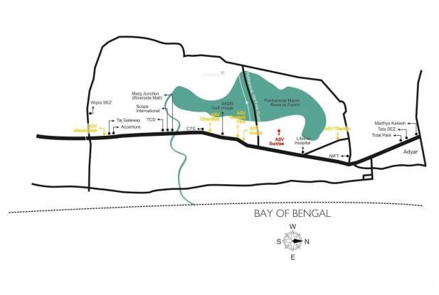 ASV Sunrise Location Plan