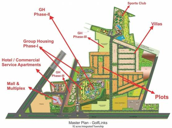 LandCraft Golflinks Apartments Layout Plan