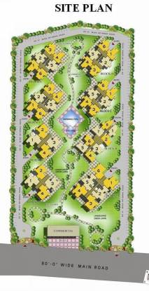 Techman Moti Residency Layout Plan