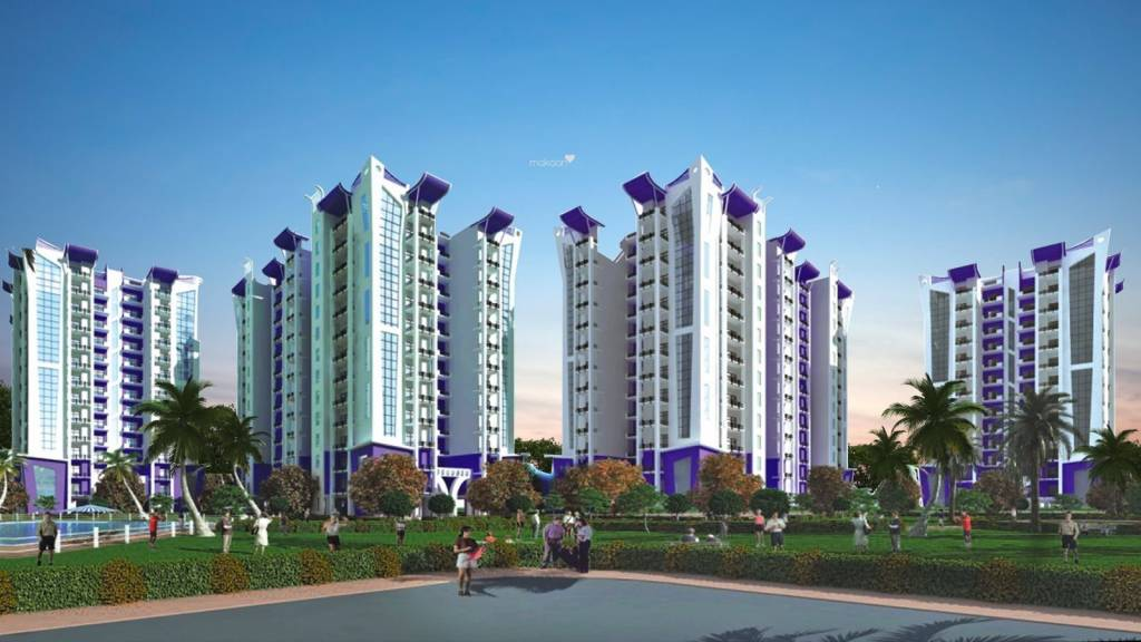 Techman Moti Residency Elevation