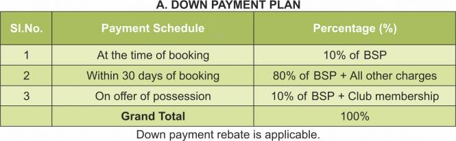 TDI Waterside Floors Payment Plan