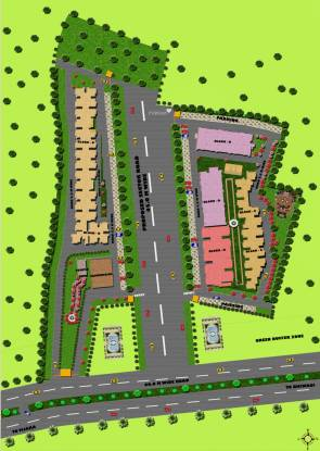 Trehan Status Residency Layout Plan