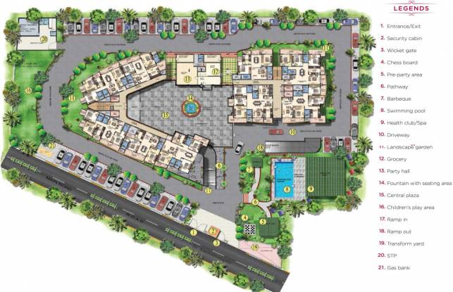 Mantri Global Heights Master Plan