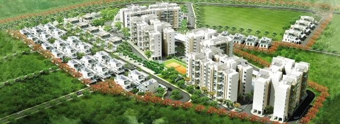 Amit Bloomfield Villas Layout Plan