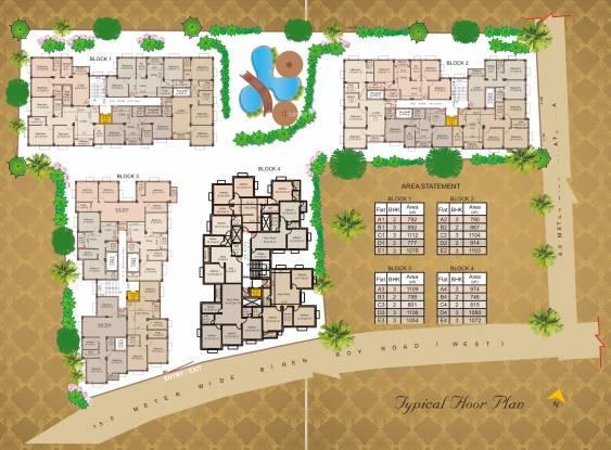 Balaji Crimson Site Plan