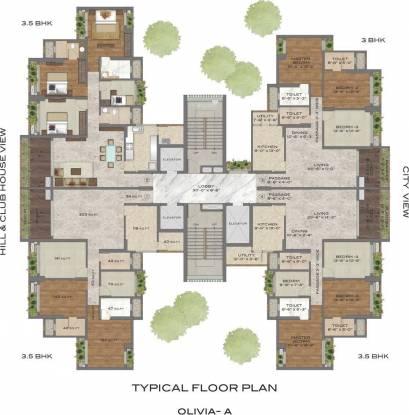 T Bhimjyani Neelkanth Woods Olivia Cluster Plan