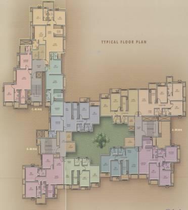 Kukreja Residency Cluster Plan
