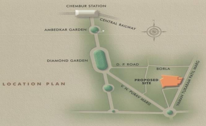 Kukreja Residency Location Plan