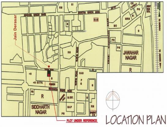 SD Ekta Suprabhat Location Plan