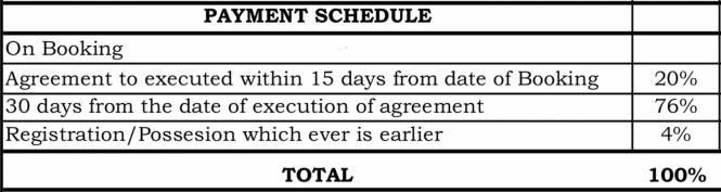 Krishna Mystiq Payment Plan