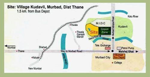 Sumitra Parvati Aangan Location Plan