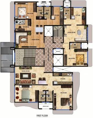 Maitree Avalon Paradise Cluster Plan
