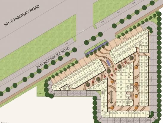 Elan Mercado Site Plan