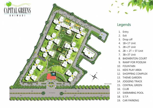 Capital Greens Phase 1 Site Plan