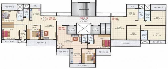 Aaron Kasturi Heritage Cluster Plan