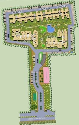 Ascent Savy Ville de Site Plan