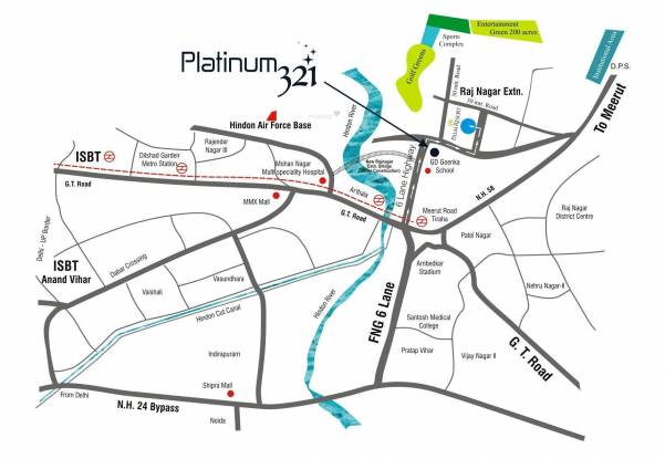 MR Platinum 321 Location Plan