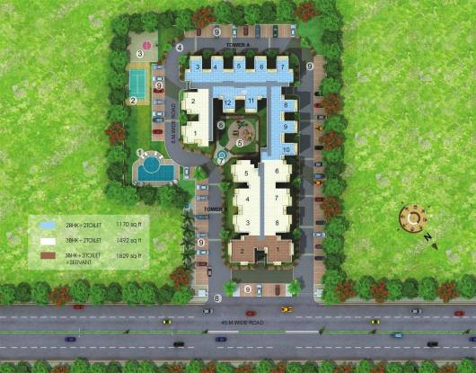 MR Platinum 321 Site Plan
