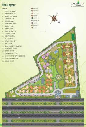 Hawelia Valencia Homes Layout Plan