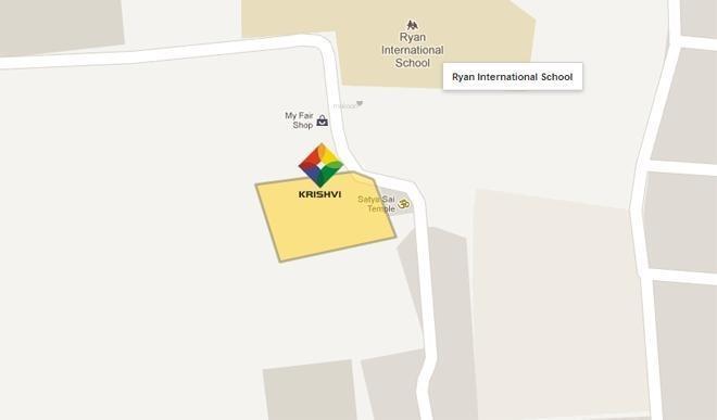 Krishvi Willow Herbs Location Plan