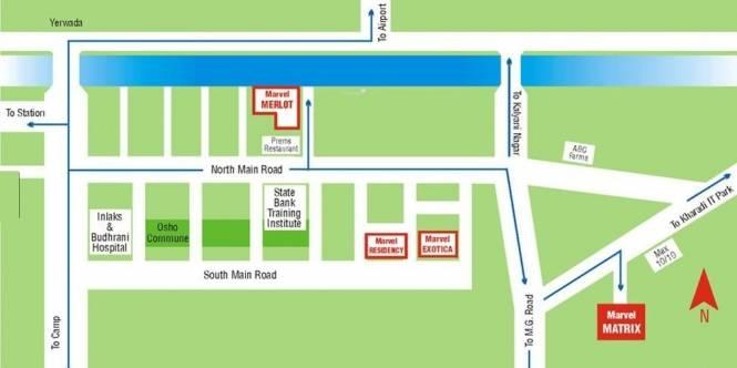 Marvel Matrix Location Plan