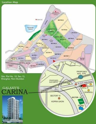 BKS Carina Location Plan