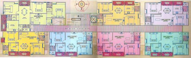 Citadil Ashwini Homes Cluster Plan