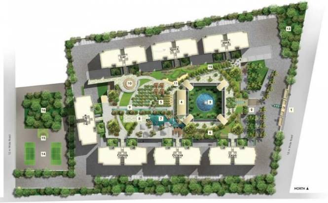 Panchshil One North Site Plan