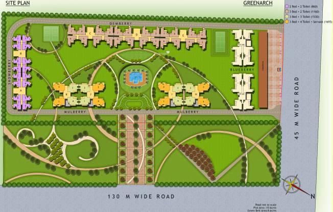 Saviour Green Arch Site Plan