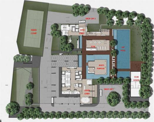 Marvel Basilo A And B Building Cluster Plan