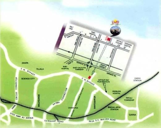 Deeshari Estate Location Plan
