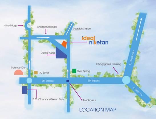 Ideal Ideal Niketan Location Plan