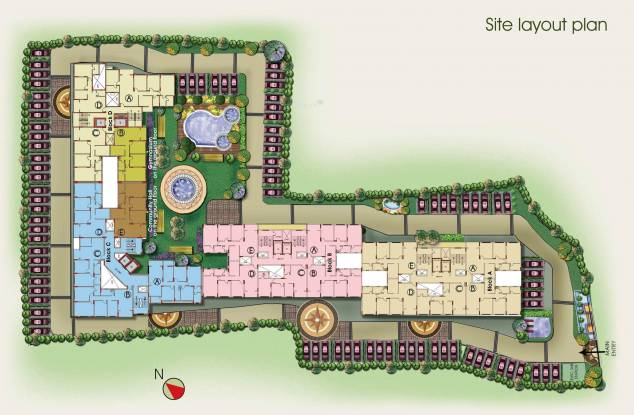 Ideal Ideal Niketan Site Plan