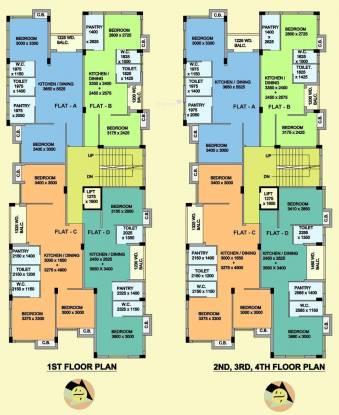Mayfair Blossom Cluster Plan