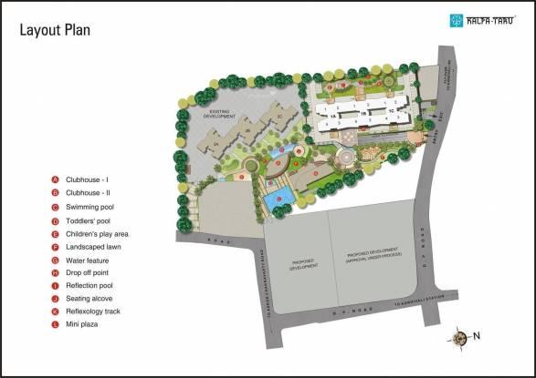 Kalpataru Gardens I Master Plan