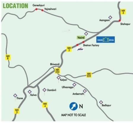 TATA Shubh Griha Location Plan