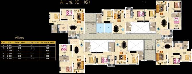 Ideal Aurum Cluster Plan