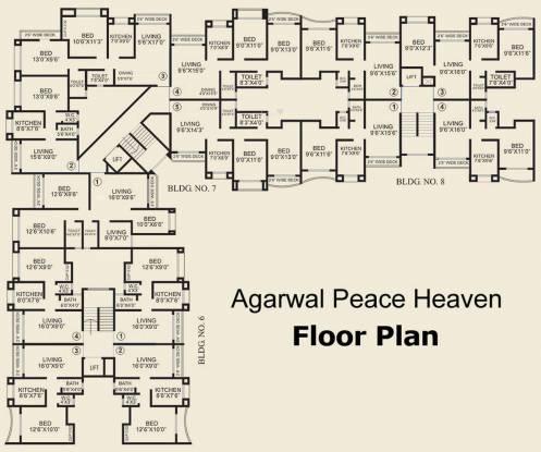 Agarwal Peace Heaven Cluster Plan