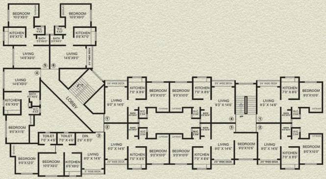 Agarwal Krish Garden Cluster Plan