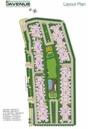 Gaursons 5th Avenue Layout Plan