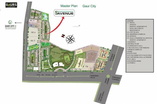 Gaursons 5th Avenue Master Plan