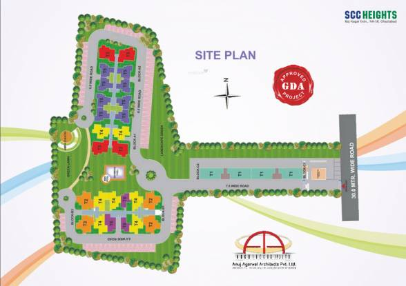 SCC Heights Site Plan