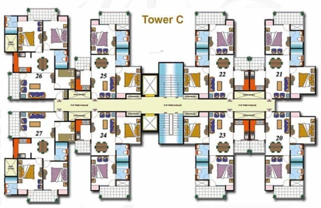High End Paradise Cluster Plan