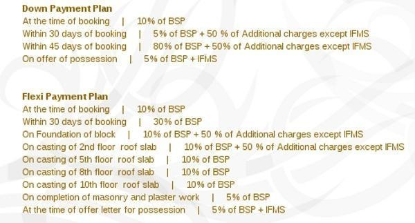 High End Paradise Payment Plan