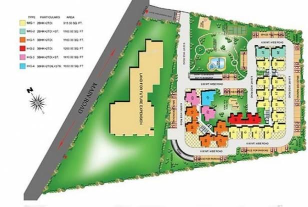 High End Paradise Site Plan
