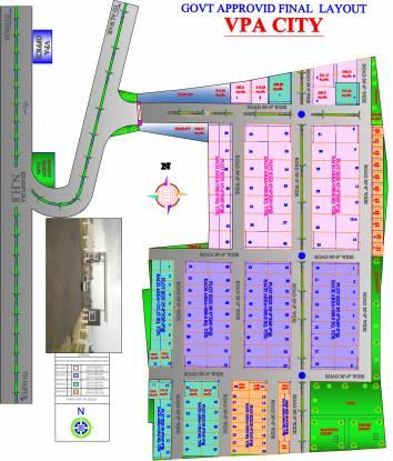 VPA VPA City Layout Plan