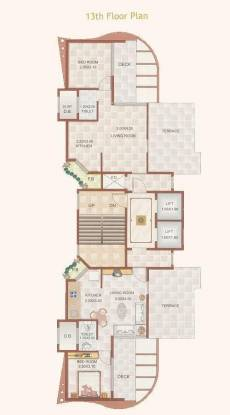 Muktistar Sapphire Heights Cluster Plan