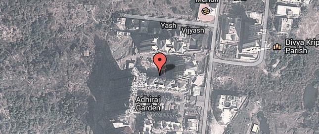 Adhiraj Gardens Location Plan