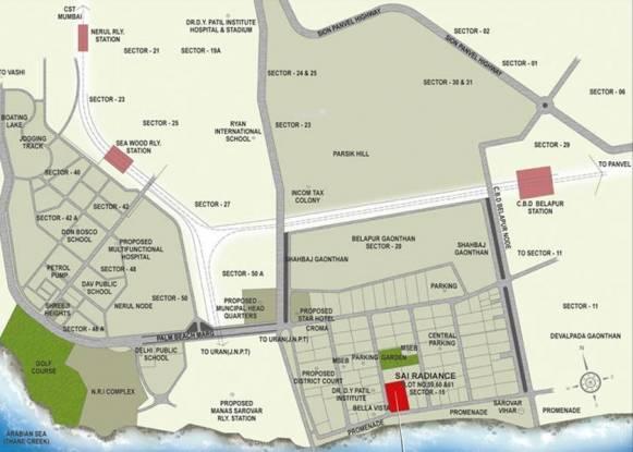 Akshar Sai Radiance Location Plan