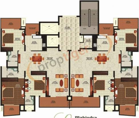 Mahindra Chloris Cluster Plan